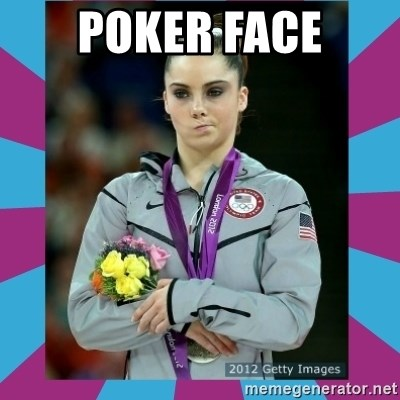 Makayla Maroney  - POKER FACE
