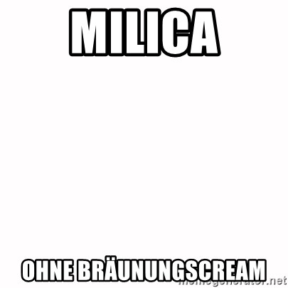 fondo blanco white background - MILICA OHNE BRÄUNUNGSCREAM
