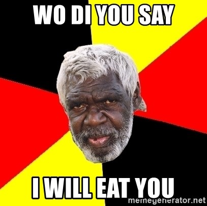 Abo - Wo di you say I will eat you