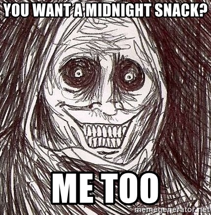 Shadowlurker - You want a midnight snack? me too