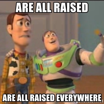 Buzz - are all raised are all raised everywhere