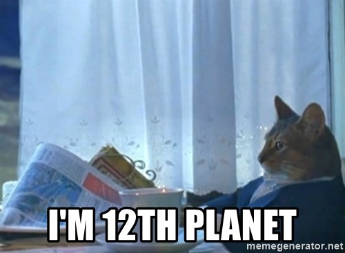 Sophisticated Cat -  i'm 12th planet