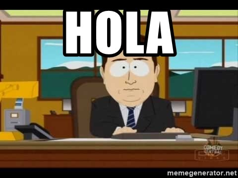 south park aand it's gone - HOLA