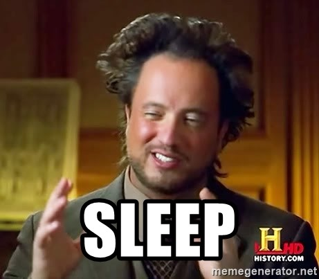 Ancient Aliens -  sleep
