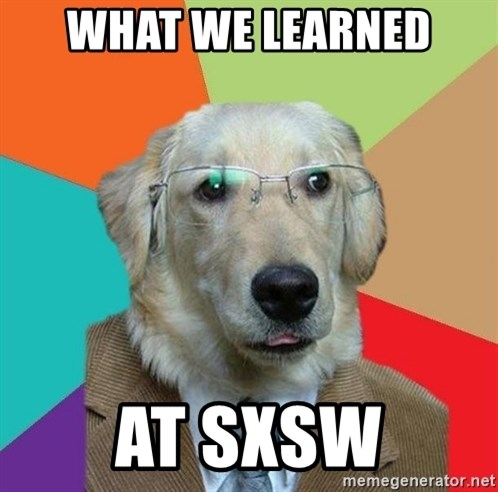Business Dog - WHAT WE LEARNED AT SXSW