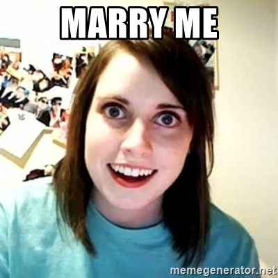 Overly Attached Girlfriend 2 - MARRY ME