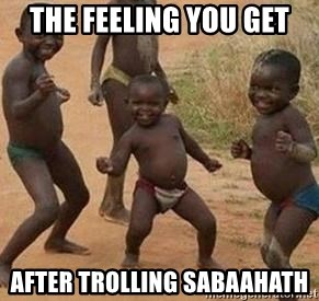 african children dancing - THE FEELING YOU GET AFTER TROLLING SABAAHATH