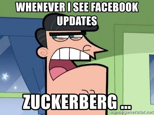 Dinkleberg - Whenever i see facebook updates Zuckerberg ...