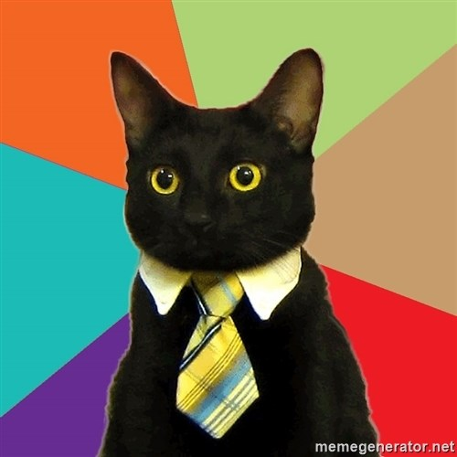 Business Cat -