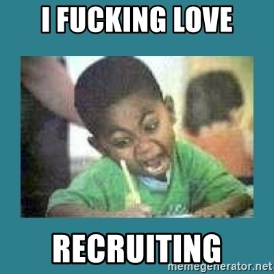 I love coloring kid - I FUCKING LOVE RECRUITING