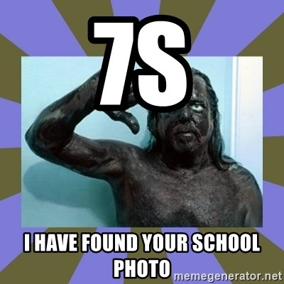 WANNABE BLACK MAN - 7s i have found your school photo
