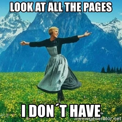 Look at All the Fucks I Give - Look at all the Pages I don´t Have