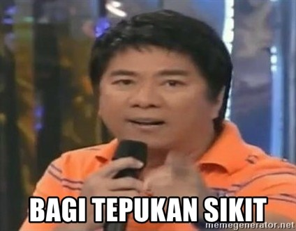 willie revillame you dont do that to me -  BAGI TEPUKAN SIKIT