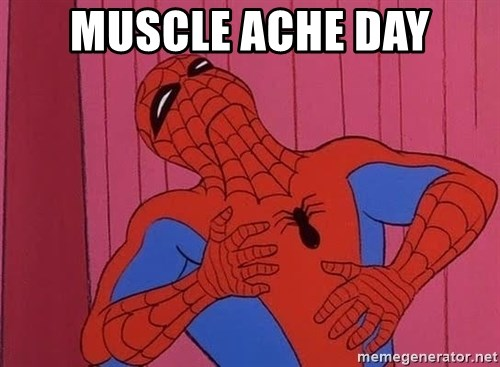 Spidermantripping - Muscle ACHE day