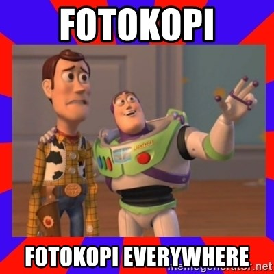 Everywhere - fotokopi fotokopi everywhere