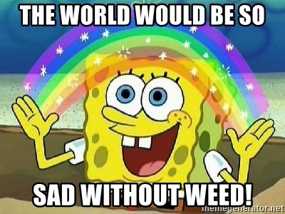 Imagination - THE WORLD WOULD BE SO SAD WITHOUT WEED!