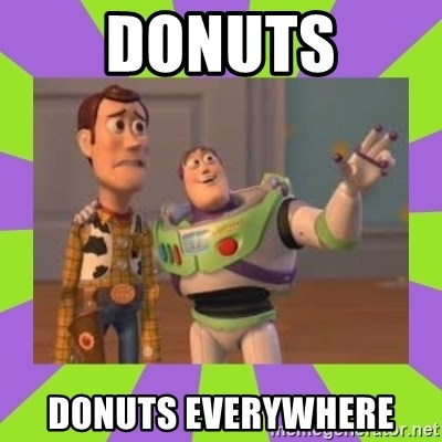 X, X Everywhere  - Donuts Donuts Everywhere