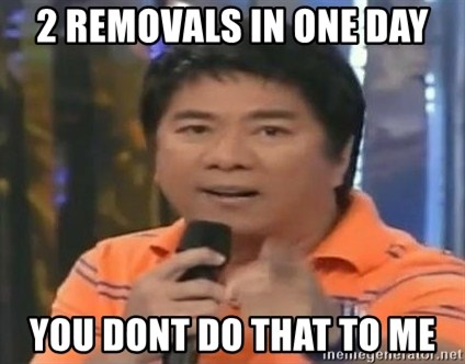 willie revillame you dont do that to me - 2 removals in one day you dont do that to me