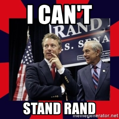 Rand Paul - I CAN'T  STAnD RAnD