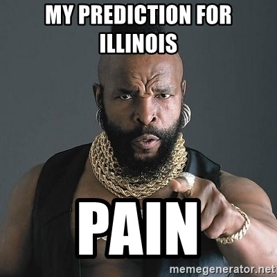 Mr T - My prediction for illinOis Pain
