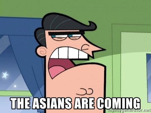 Dinkleberg -  the asians are coming