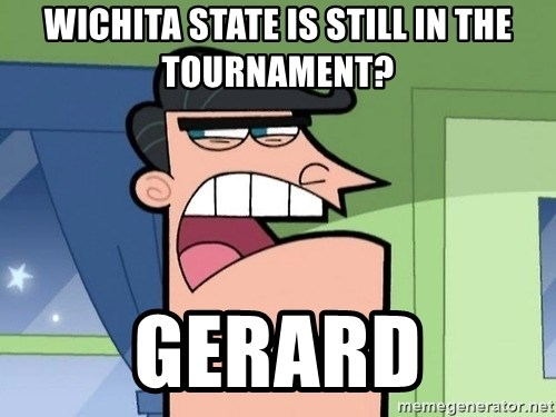 I Blame Dinkleburg - wichita state is still in the tournament? gerard