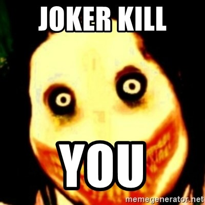 Tipical dream - JOKER KILL  YOU