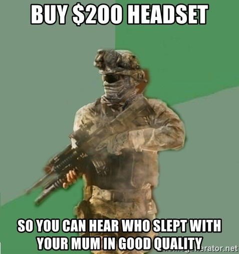 philosoraptor call of duty - Buy $2oo headset so you can hear who slept with your mum in good quality
