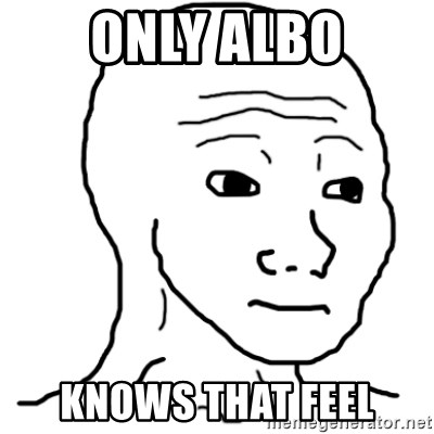 That Feel Guy - ONLY ALBO KNOWS THAT FEEL