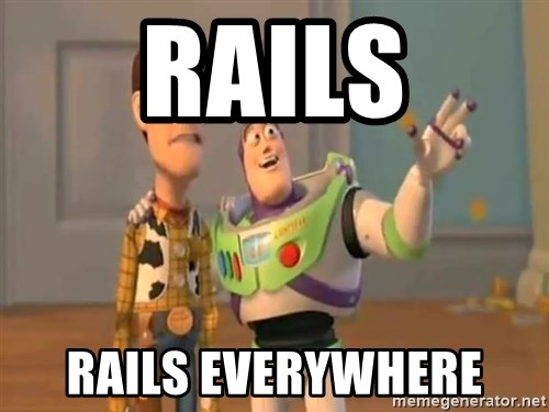 X, X Everywhere  - RAILS RAILS EVERYWHERE