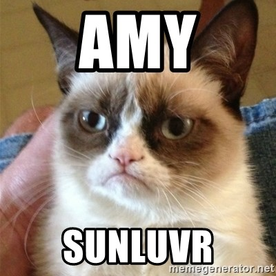 Grumpy Cat  - amy sunluvr