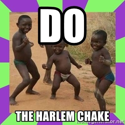 african kids dancing - do the harlem chake