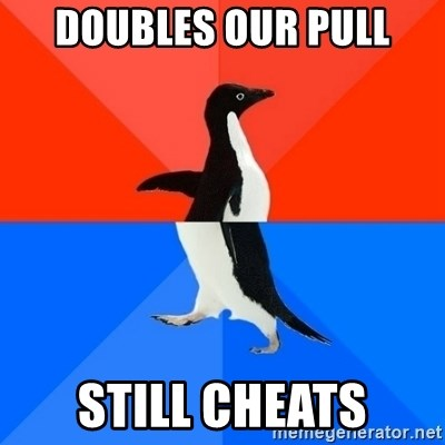 Socially Awesome Awkward Penguin - Doubles our pull still cheats