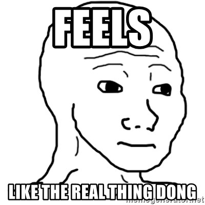That Feel Guy - FEELS LIKE the real thing dong