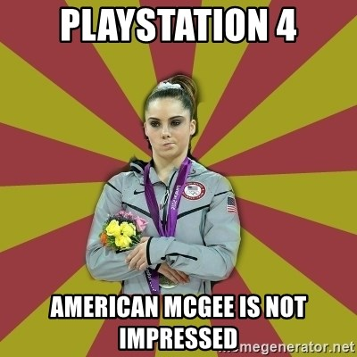 Not Impressed Makayla - playstation 4 american mcgee is not impressed