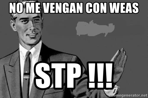 Correction Man  - NO ME VENGAN CON WEAS  STP !!!