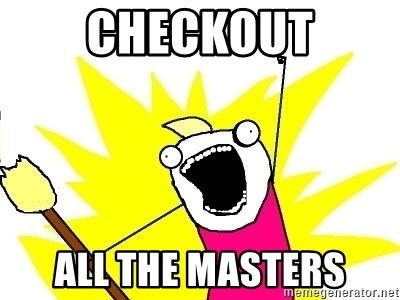 X ALL THE THINGS - checkout all the masters