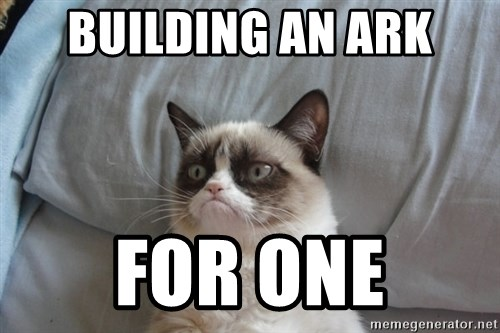 Grumpy cat good - building an ark for one