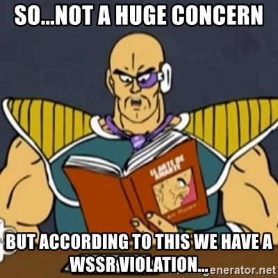 El Arte de Amarte por Nappa - So...not a huge concern but according to this we have a wssr violation...