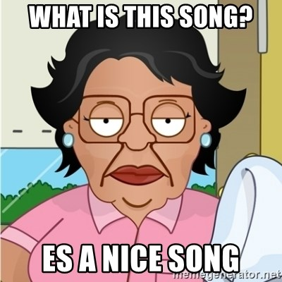 Consuela - what is this song? Es a nice song
