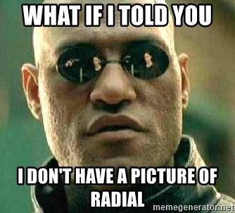 What if I told you / Matrix Morpheus - WHAT IF I TOLD YOU  I DON'T HAVE A PICTURE OF RADIAL