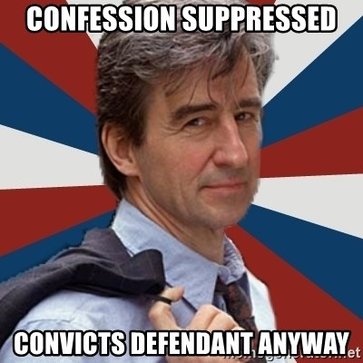Jack McCoy - Confession SUPPRESSED CONVICTS DEFENDANT ANYWAY