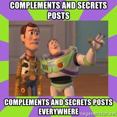 X, X Everywhere  - COMPLEMENTS and SECRETS posts COMPLEMENTS AND SECRETS POSTS Everywhere