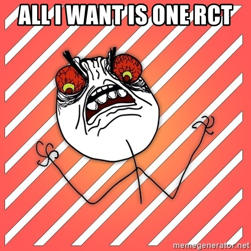 iHate - All I want is one RCT
