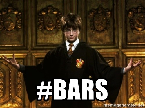 Harry Potter Come At Me Bro -  #bars