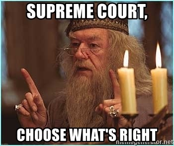 dumbledore fingers - Supreme Court, Choose What's Right