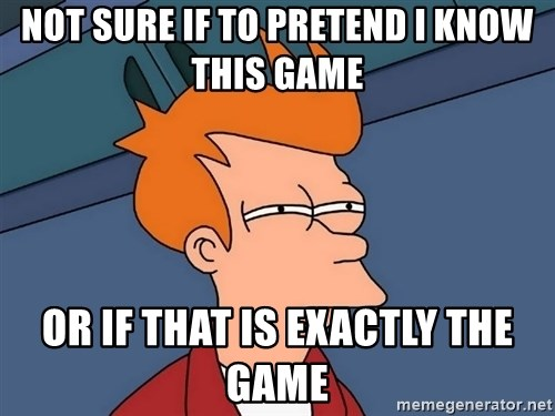 Futurama Fry - Not sure if to pretend i know this game or if that is exactly the game
