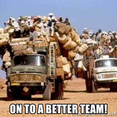 BandWagon -  on to a better team!