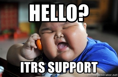 Fat Asian Kid - hello? itrs support