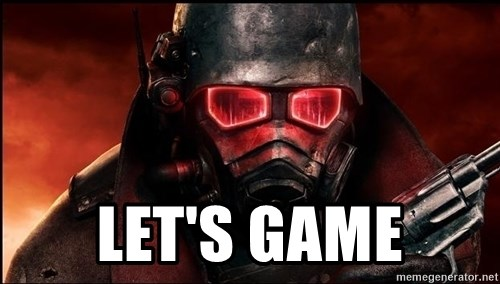 Fallout  -  let's game